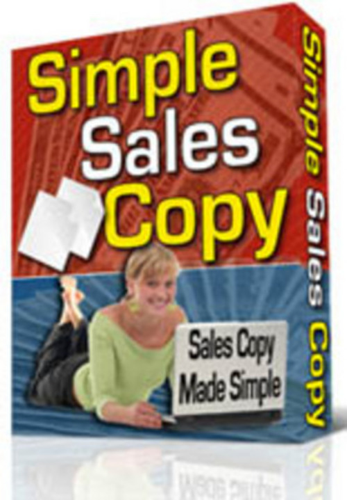 Product picture SimpleSalesCopy.
